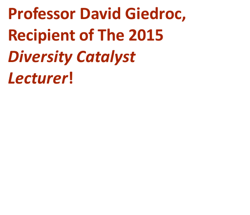 Giedroc receives DCL 2015 at NDEW 15